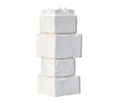 Угол наружный к Фасадным Панелям Grand Line (Гранд Лайн) Крупный Камень Молочный