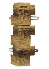 Угол наружный к Фасадным Панелям Royal Stone (Роял Стоун) Скалистый Камень Эдмонтон