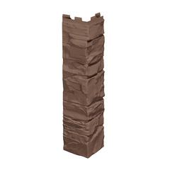 Угол наружный к Фасадным Панелям VOX (Вокс) Vilo Solid Stone (Вило Солид Стоун) Коричневый