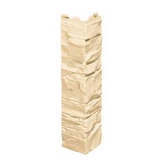 Угол наружный к Фасадным Панелям VOX (Вокс) Vilo Solid Stone (Вило Солид Стоун) Кремовый