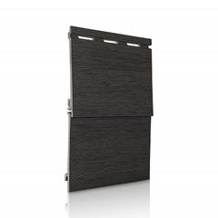 Сайдинг Вспененный VOX Kerrafront Wood Design (Керрафронт Вуд Дизайн) Графит