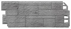 Фасадные панели (Цокольный Сайдинг) VOX Sandstone (Сандстоун) Light Grey (Светло-серый)