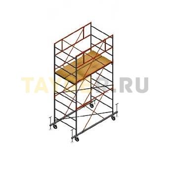 Вышка тура строительная Ортус 400 настил 1.2 х 2.0 м., высота 3,9 м