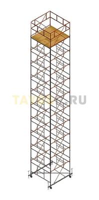 Вышка тура строительная Ортус 600 настил 2.0 х 2.0 м., высота 13,5 м