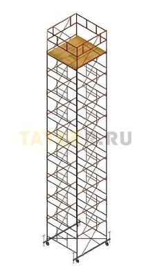 Вышка тура строительная Ортус 600 настил 2.0 х 2.0 м., высота 12,3 м