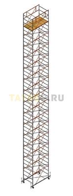 Вышка тура строительная СВ 1,2х2.0 настил 1,2 х 2.0 м., высота 18,3 м
