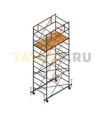 Вышка тура строительная СВ 1,2х2.0 настил 1,2 х 2.0 м., высота 5,1 м