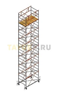 Вышка тура строительная СВ 1,2х2.0 настил 1,2 х 2.0 м., высота 9,9 м