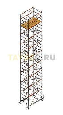 Вышка тура строительная СВ 1,2х2.0 настил 1,2 х 2.0 м., высота 11,1 м