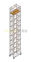 Вышка тура строительная СВ 1,2х2.0 настил 1,2 х 2.0 м., высота 12,3 м