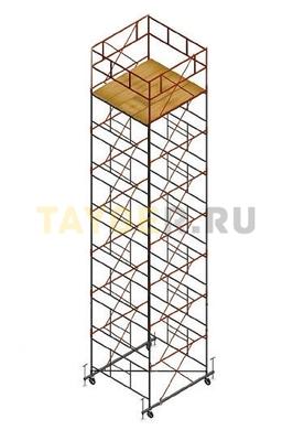 Вышка тура строительная СВ 2,0х2.0 настил 2,0 х 2.0 м., высота 9,9 м