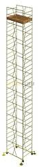 Вышка тура строительная УЛТ-125 настил 1,2x2,0 м., высота 21,3 м