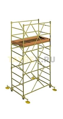 Вышка тура строительная УЛТ-60 настил 1,6x0,6 м., высота 3,8 м