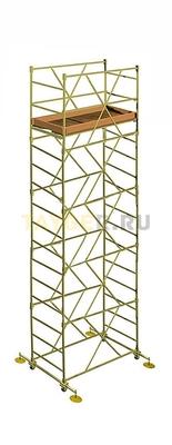 Вышка тура строительная УЛТ-60 настил 1,6x0,6 м., высота 6,2 м