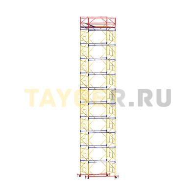 Вышка-тура строительная ВСП 250-1,2 настил 1,2х2,0 м., высота 13,8 м.