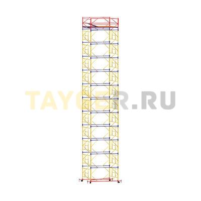 Вышка-тура строительная ВСП 250-1,6 настил 1,6х2,0 м., высота 15,0 м.