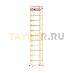 Вышка-тура строительная ВСП 250-1,2 настил 1,2х2,0 м., высота 15,0 м.