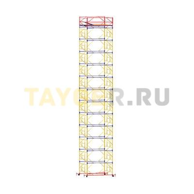 Вышка-тура строительная ВСП 250-1,6 настил 1,6х2,0 м., высота 16,2 м.