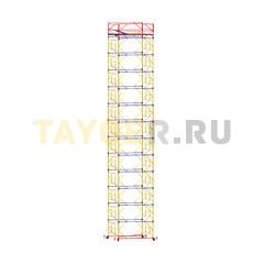 Вышка-тура строительная ВСП 250-1,2 настил 1,2х2,0 м., высота 16,2 м.