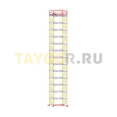 Вышка-тура строительная ВСП 250-1,6 настил 1,6х2,0 м., высота 17,4 м.