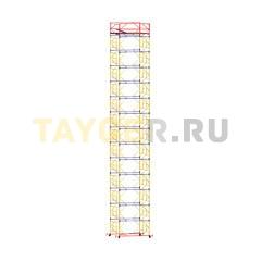 Вышка-тура строительная ВСП 250-1,2 настил 1,2х2,0 м., высота 17,4 м.