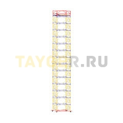 Вышка-тура строительная ВСП 250-1,6 настил 1,6х2,0 м., высота 18,7 м.