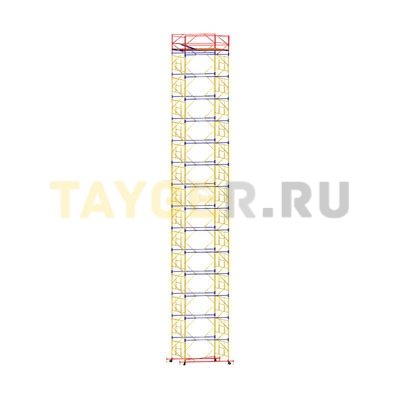 Вышка-тура строительная ВСП 250-1,2 настил 1,2х2,0 м., высота 18,7 м.