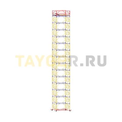 Вышка-тура строительная ВСП 250-2,0 настил 2,0х2,0 м., высота 18,7 м.