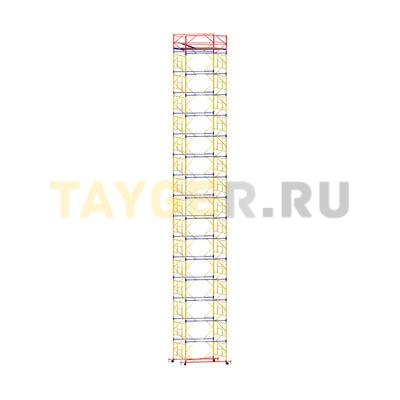 Вышка-тура строительная ВСП 250-1,6 настил 1,6х1,6 м., высота 19,9 м