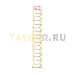 Вышка-тура строительная ВСП 250-1,6 настил 1,6х2,0 м., высота 21,0 м.