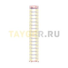 Вышка-тура строительная ВСП 250-1,6 настил 1,6х1,6 м., высота 21,0 м