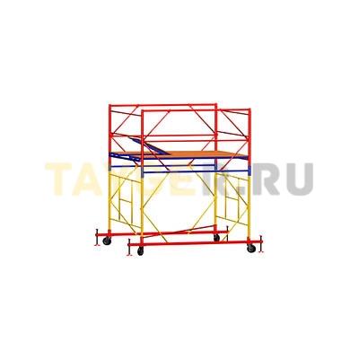 Вышка-тура строительная ВСП 250-1,6 настил 1,6х1,6 м., высота 2,7 м.