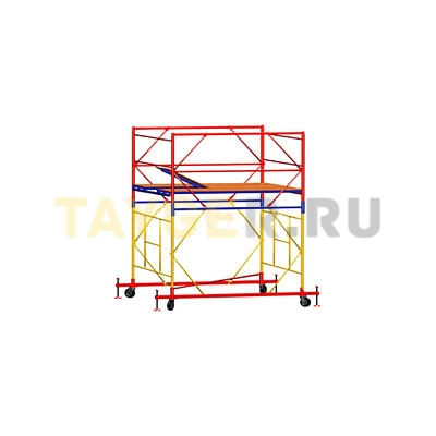 Вышка-тура строительная ВСП 250-1,0 настил 1,0х2,0 м., высота 2,7 м.