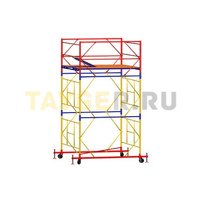 Вышка-тура строительная ВСП 250-1,6 настил 1,6х1,6 м., высота 3,9 м.