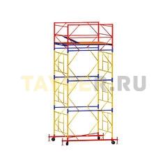 Вышка-тура строительная ВСП 250-1,6 настил 1,6х2,0 м., высота 5,1 м.