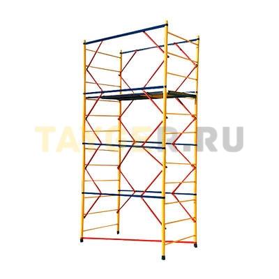 Вышка-тура строительная ВСП 250-1,0 Эконом настил 1,0х2,0 м., высота 4,8 м.