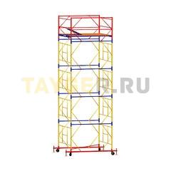 Вышка-тура строительная ВСП 250-1,6 настил 1,6х1,6 м., высота 6,4 м.