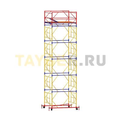 Вышка-тура строительная ВСП 250-1,6 настил 1,6х2,0 м., высота 7,6 м.