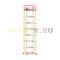 Вышка-тура строительная ВСП 250-1,6 настил 1,6х1,6 м., высота 10,0 м.