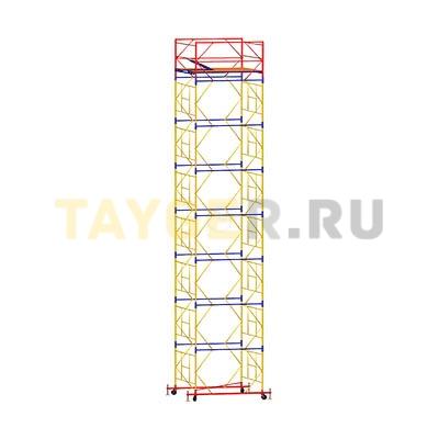 Вышка-тура строительная ВСП 250-1,2 настил 1,2х2,0 м., высота 10,0 м.