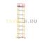 Вышка-тура строительная ВСП 250-1,6 настил 1,6х1,6 м., высота 11,3 м.