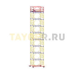Вышка-тура строительная ВСП 250-1,2 настил 1,2х2,0 м., высота 11,3 м