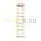 Вышка-тура строительная ВСП 250-1,2 настил 1,2х2,0 м., высота 12,5 м