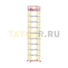 Вышка-тура строительная ВСП 250-1,6 настил 1,6х1,6 м., высота 12,5 м
