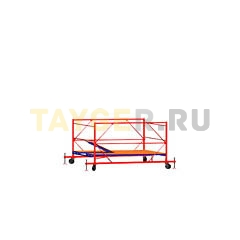 Вышка-тура строительная ВСП 250-1,6 настил 1,6х2,0 м., высота 1,2 м. базовый блок