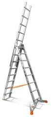 Лестница трехсекционная Эйфель Ювелир 3х8